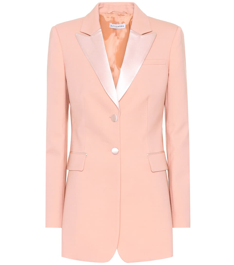 Altuzarra Blazer West From Stretch-wool