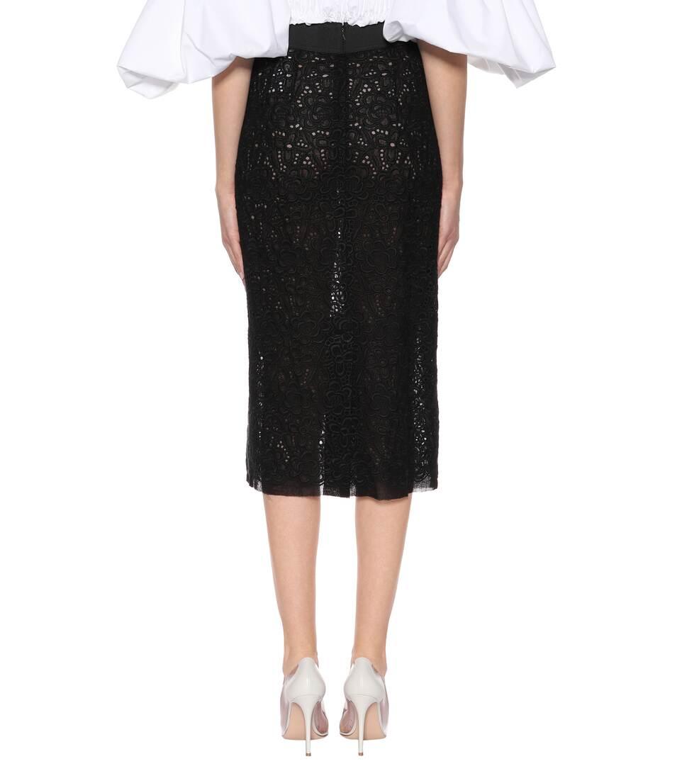 Guenstige Dolce & Gabbana Midirock aus Spitze Günstig Kaufen Für Schön Footaction Zum Verkauf q6FbQQ