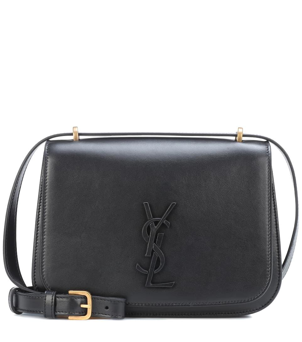Spontini Leather Shoulder Bag - Black Saint Laurent Y2ZvWy3xj