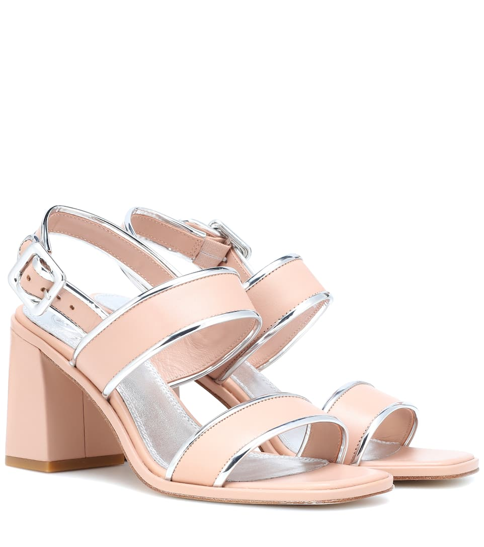 6dc412320f9d97 Delaney Leather Sandals - Tory Burch