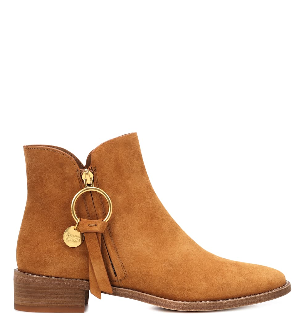 Bottines en cuir SalvadorSee By Chloé ezQmJ