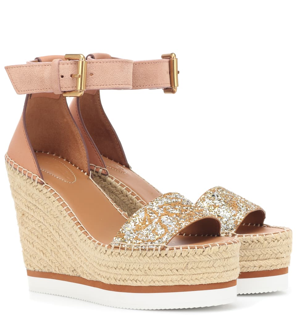 a9e3e708d374 Glyn Wedge Espadrille Sandals - See By Chloé