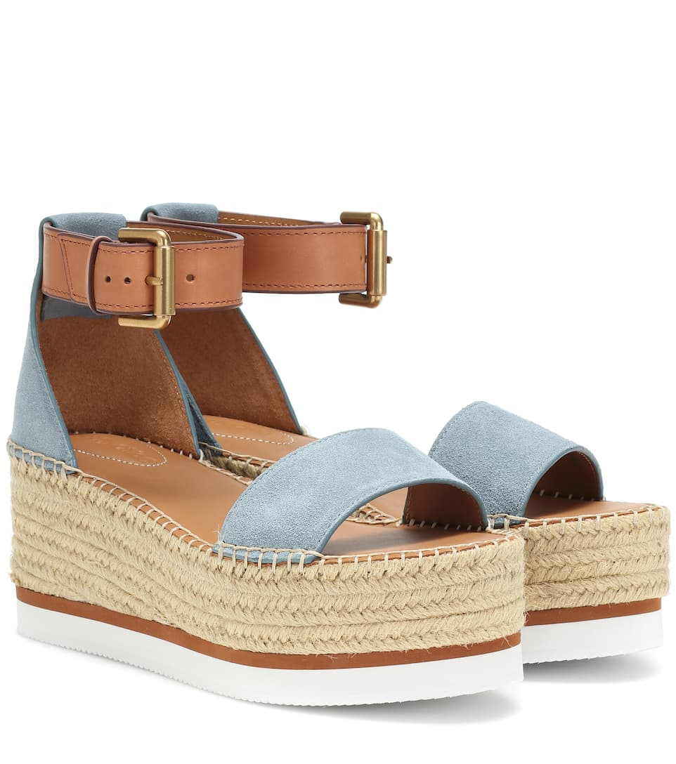 35149631103 Glyn Wedge Espadrille sandals. NEW ARRIVAL. See By Chloé