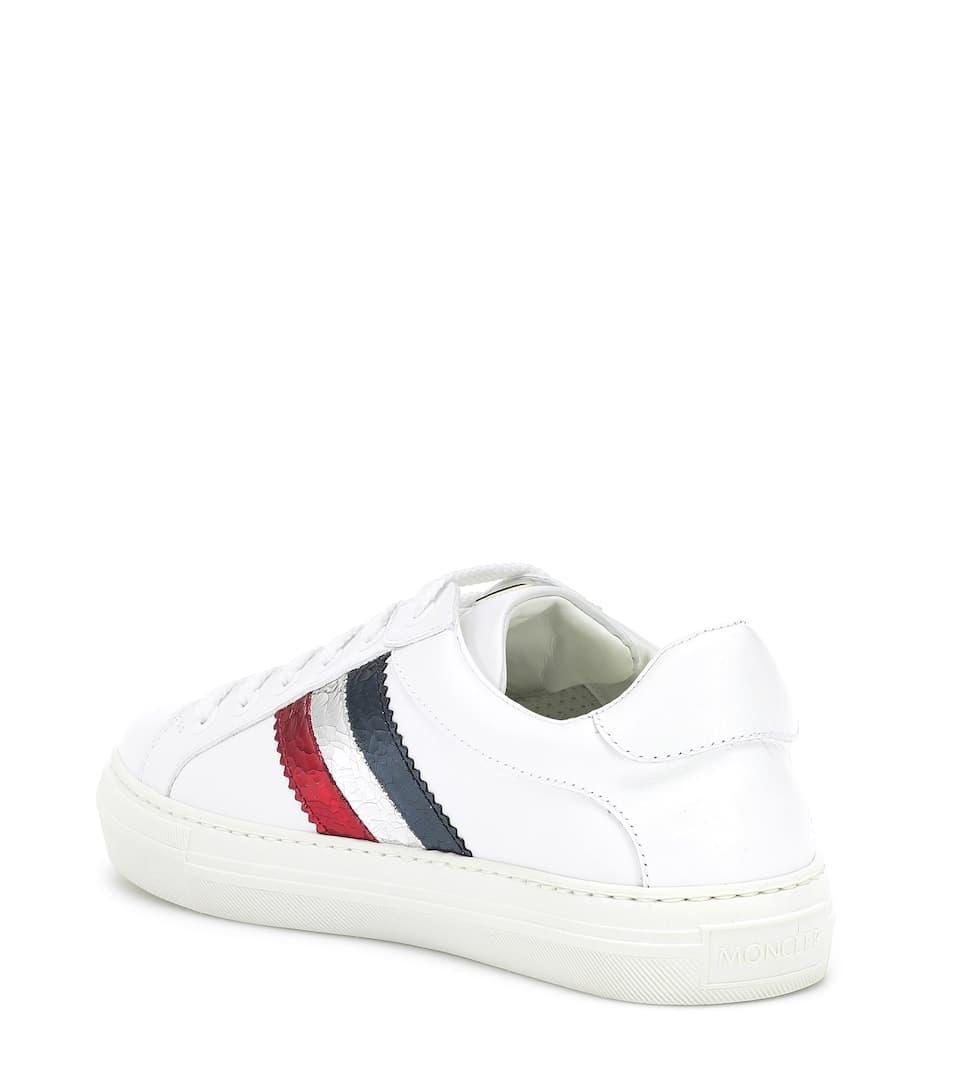 Art nrnbsp;p00398546 Ariel Aus LederMoncler Sneakers wPkZiuTOXl