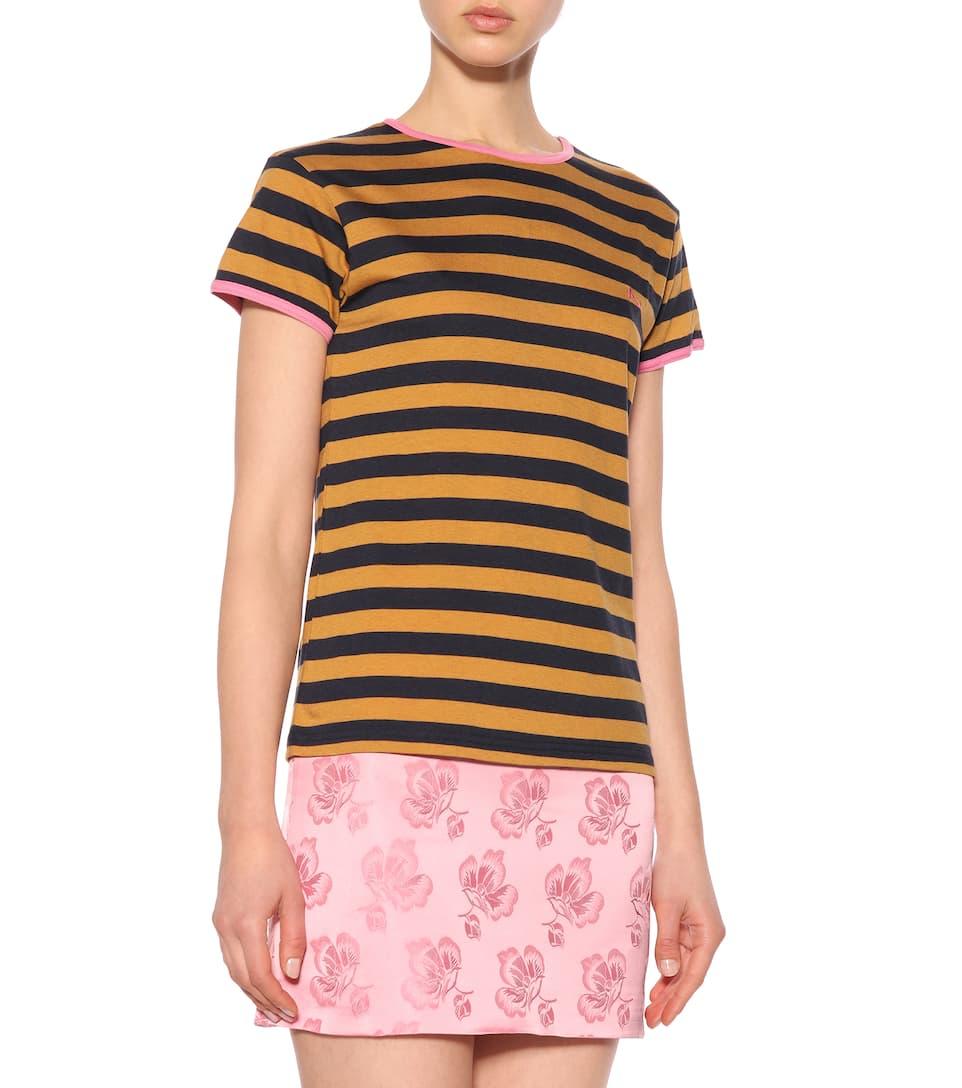 AlexaChung T-Shirt mit Streifen