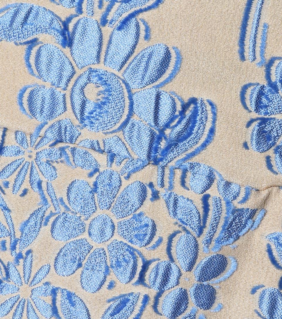 Fendi Besticktes Kleid mit Seidenanteil