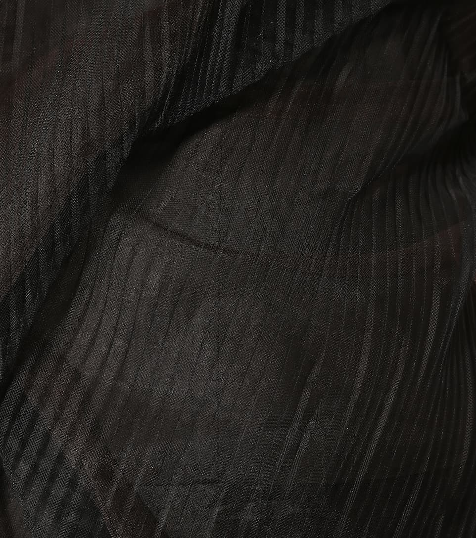 Rick Owens Schulterfreies Kleid aus Tüll