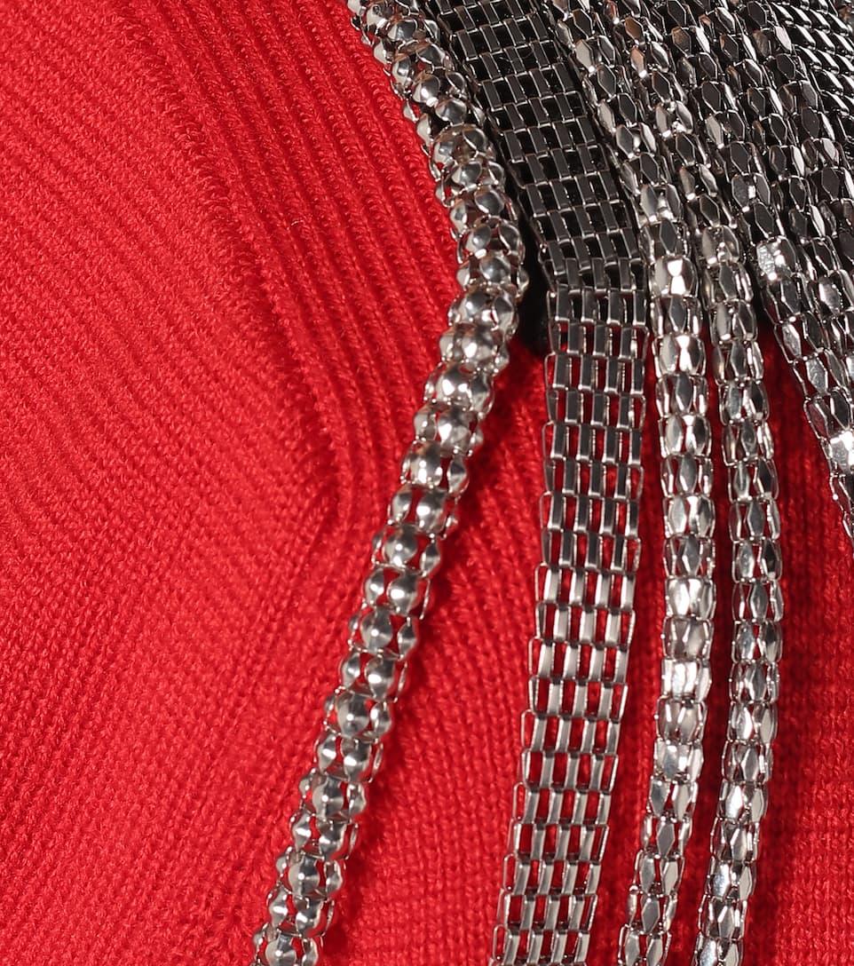 Christopher Kane - Embellished cotton sweater