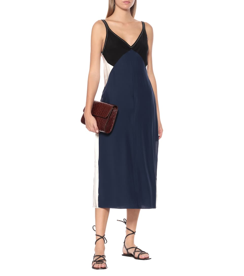 Gladys Silk Slip Dress - Rag & Bone