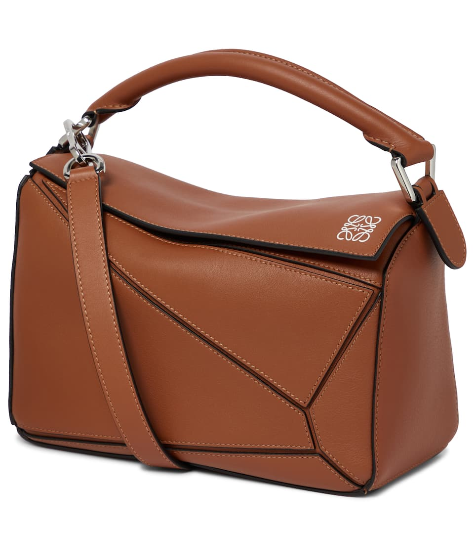 Loewe - Puzzle Small leather shoulder bag