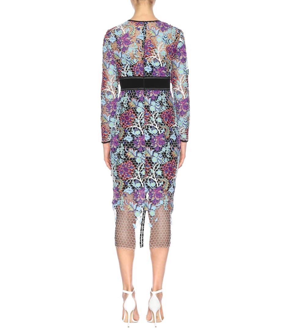Embroidered dress. Diane von Furstenberg