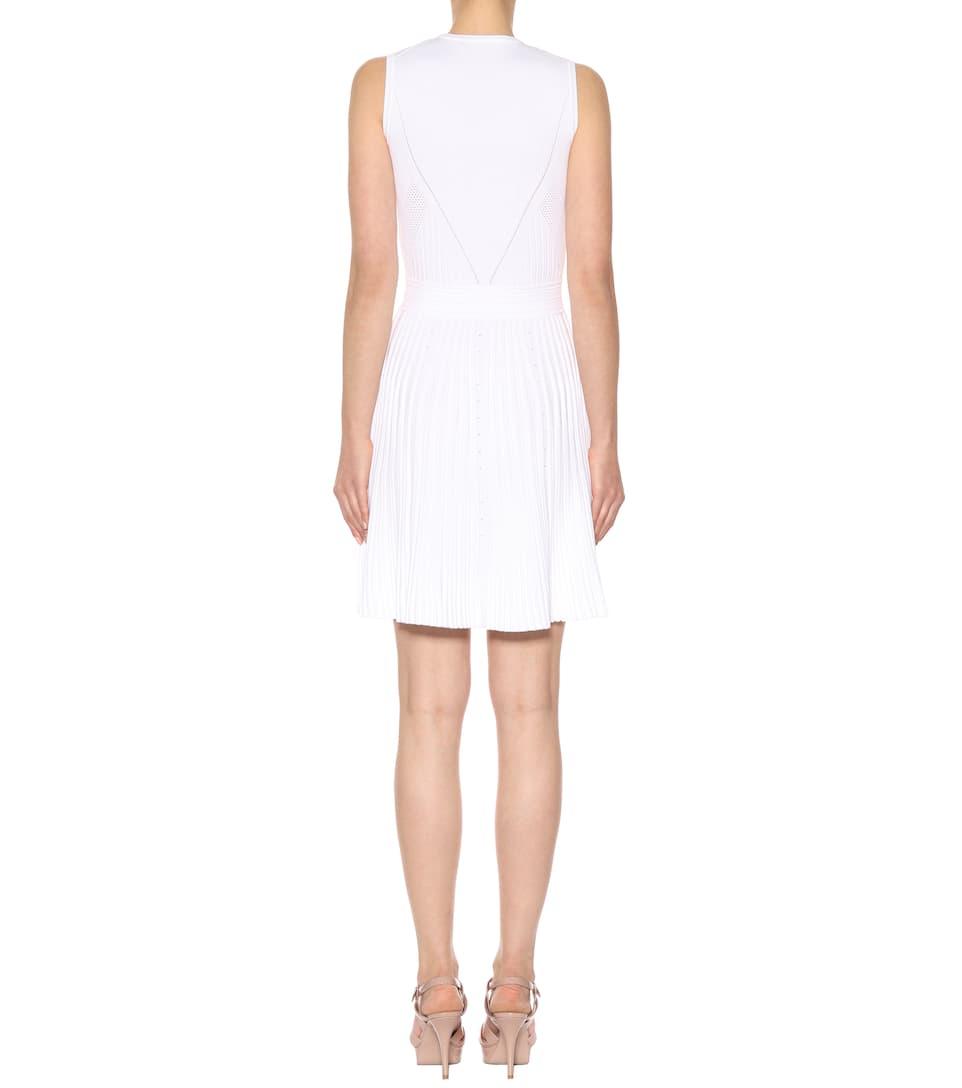 Versace Plissiertes Minikleid
