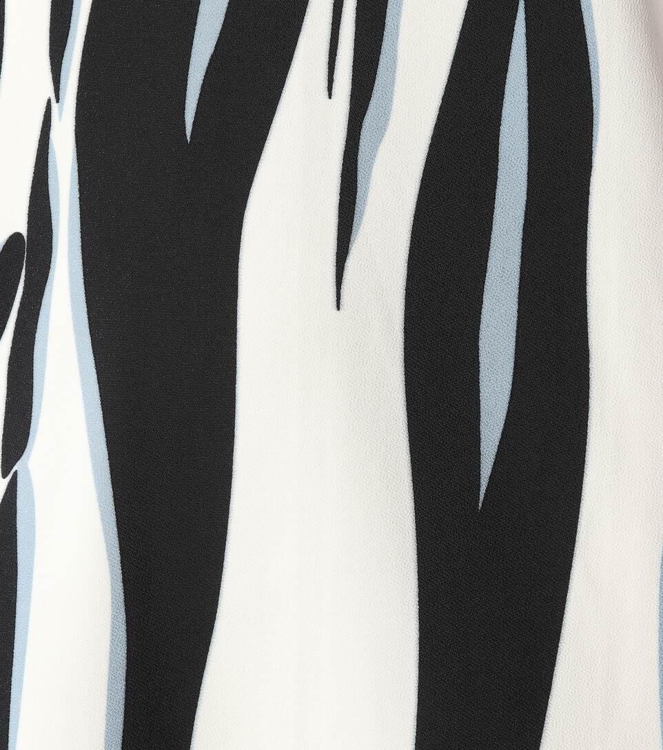 Victoria Victoria Beckham Bedrucktes Kleid aus Crêpe