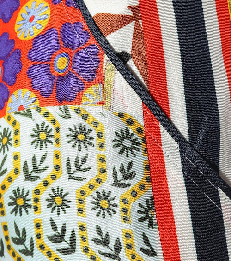 recuerdos Libro seda estampado de Tory Pantalón Burch de Sienna 8TfqgxRw