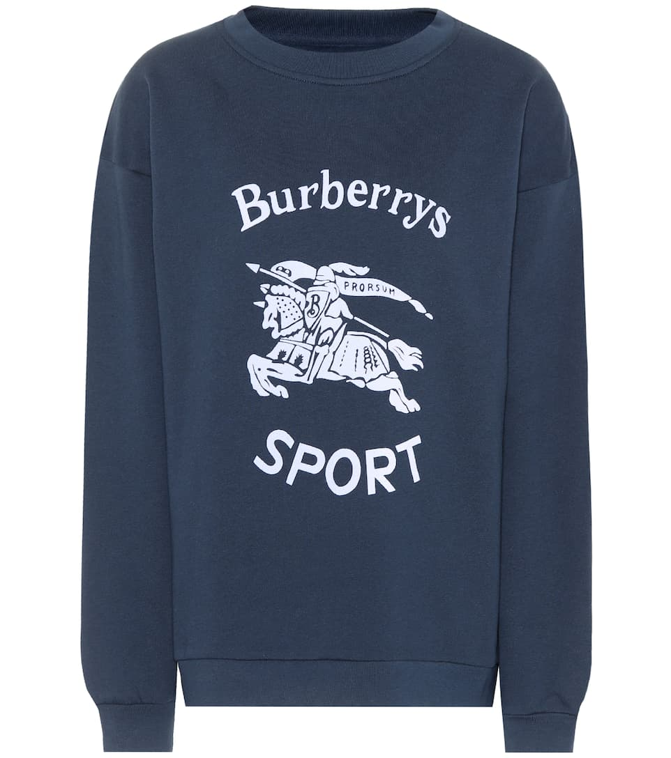 Burberry Printed Sweatshirt Made Of Jersey