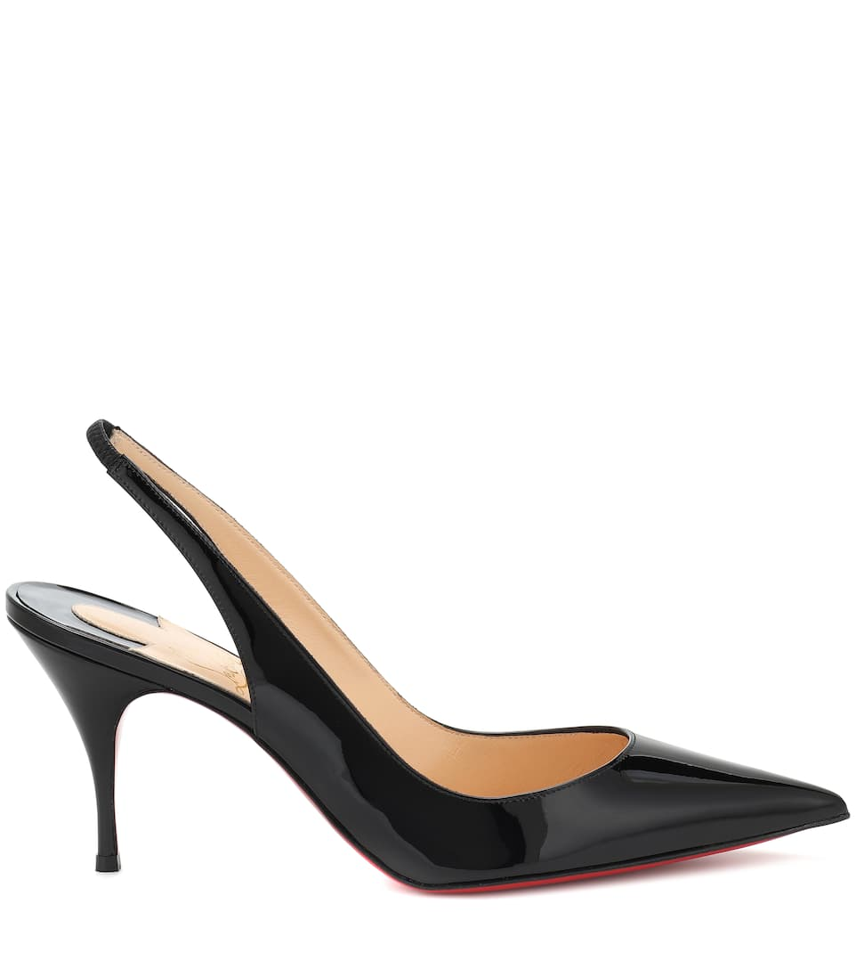 95bc46591d7 Clare Sling 80 Patent Leather Pumps | Christian Louboutin ...