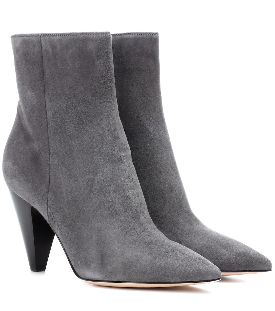 Exclusive to mytheresa.com - Patent leather ankle boots Gianvito Rossi 0AbgAzQL2