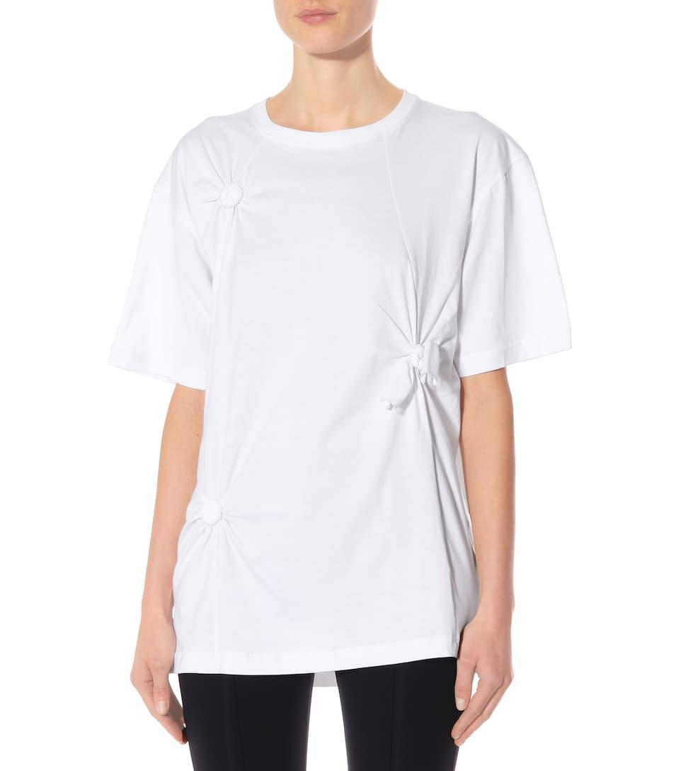 algodón Helmut camiseta blanca Lang de nO44rXqT