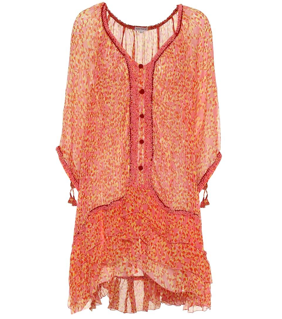 En St Mini Bety Artnbsp;p00398656 SoiePoupette robe N° Imprimée Barth N08kXZwOPn