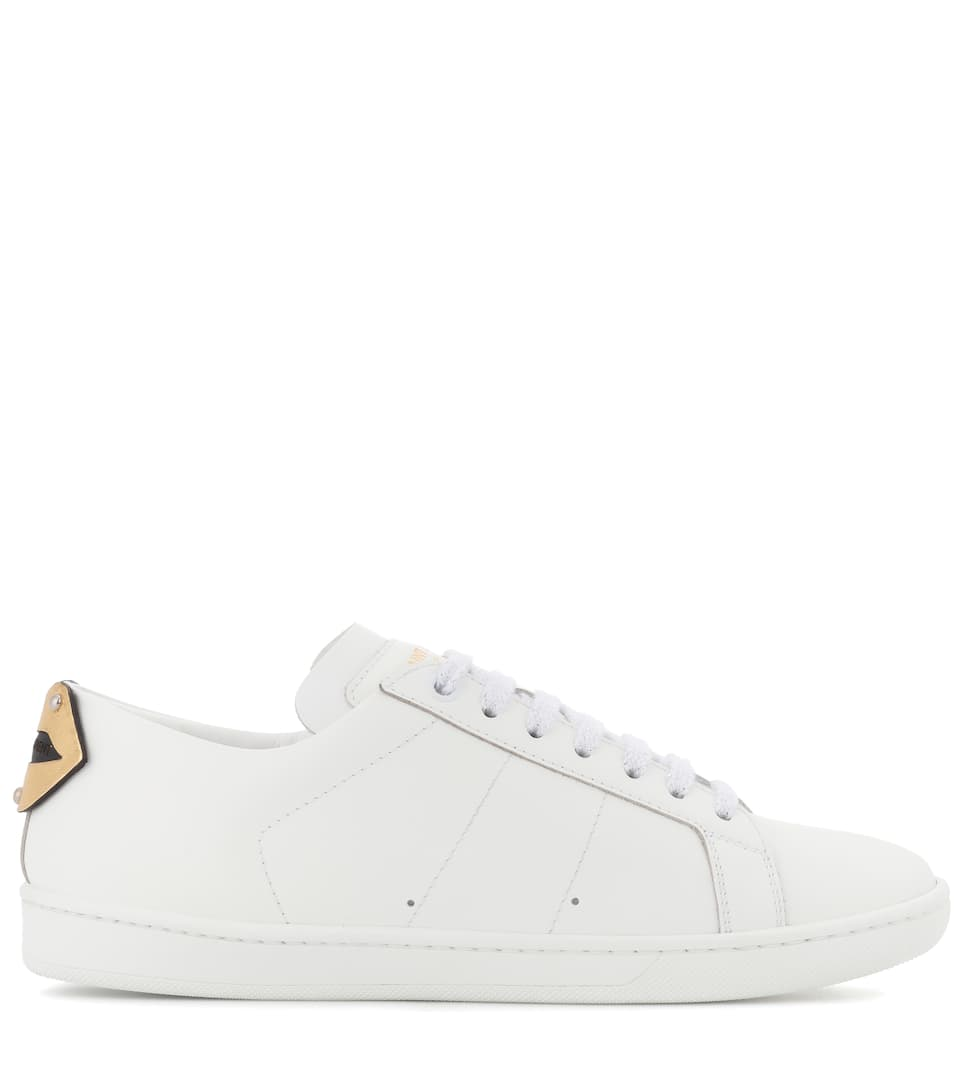 Saint Laurent Sneakers aus Leder