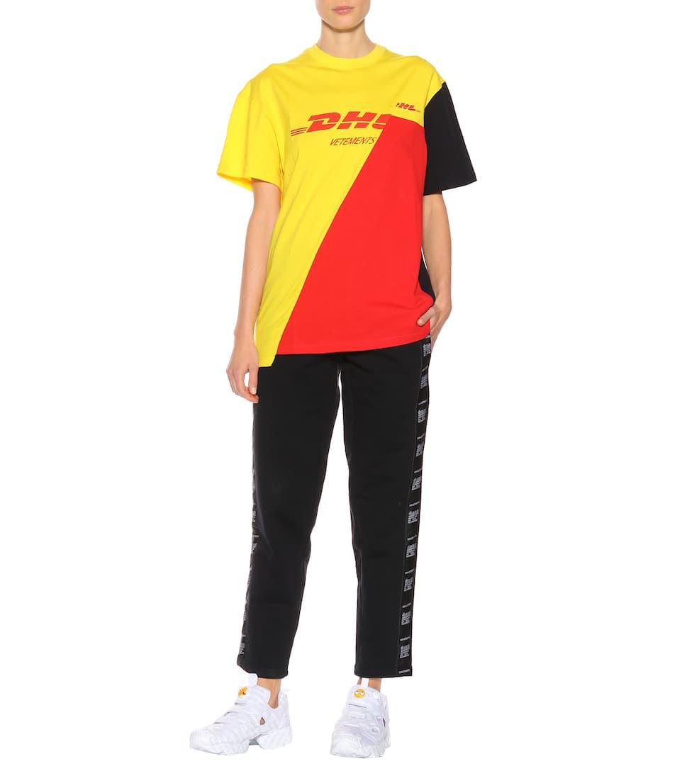 Vetements T-Shirt DHL aus Baumwolle