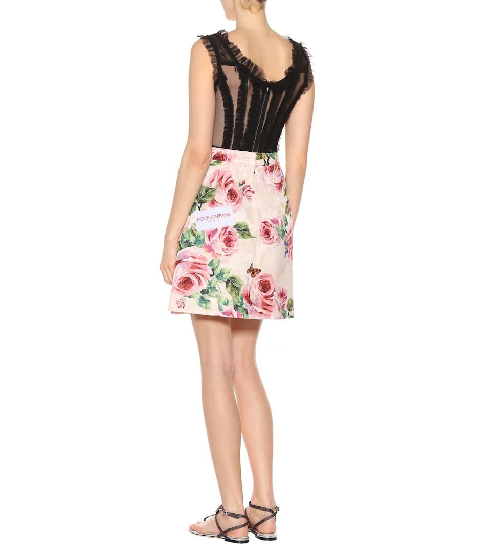 Dolce & Gabbana Minirock aus Jacquard