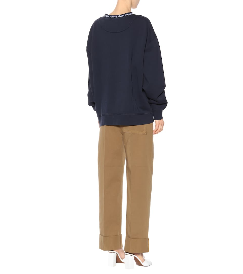 Acne Studios Sweatshirt Yana aus Baumwolle