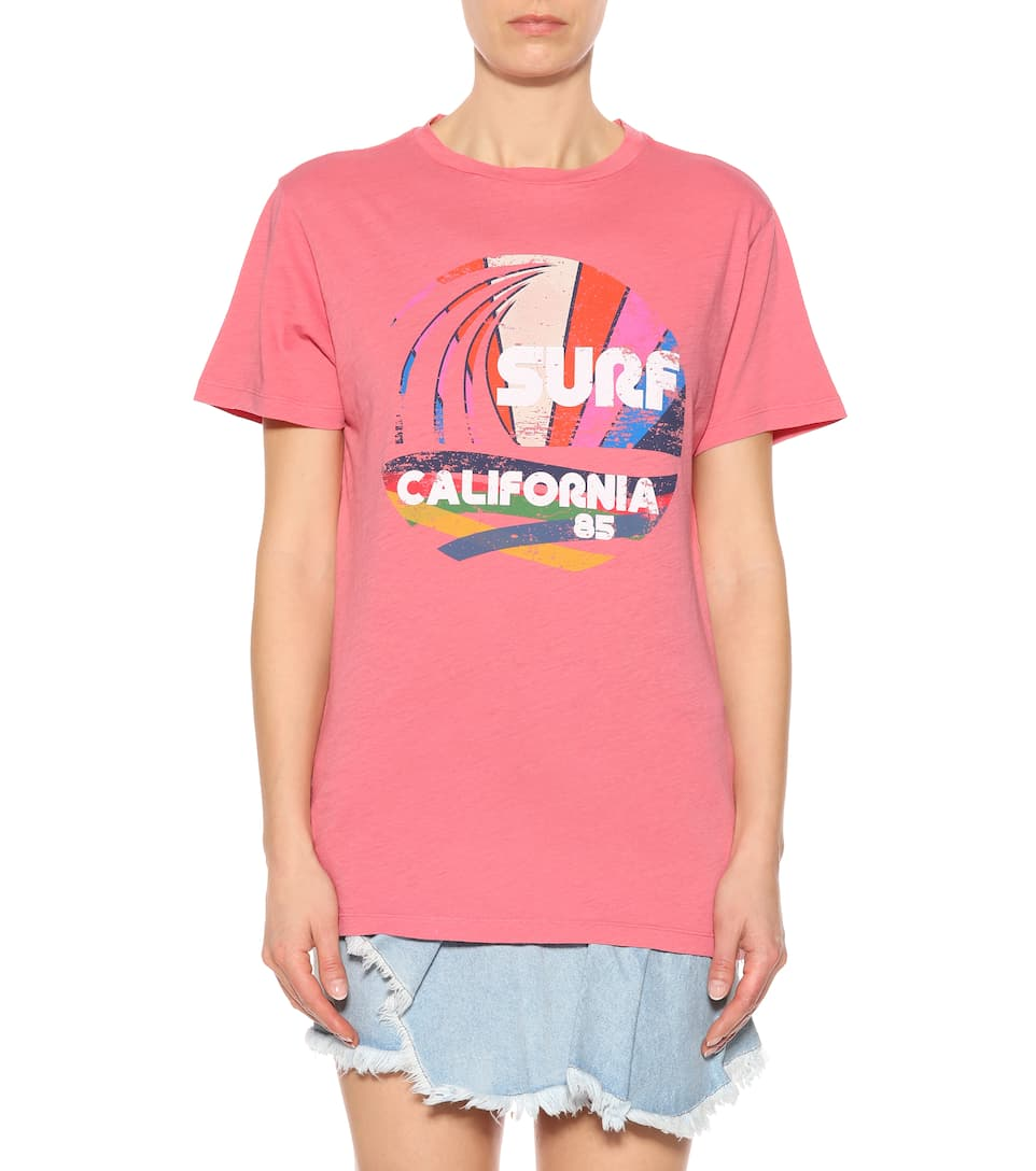 Isabel Marant Bedrucktes T-Shirt aus Baumwolle