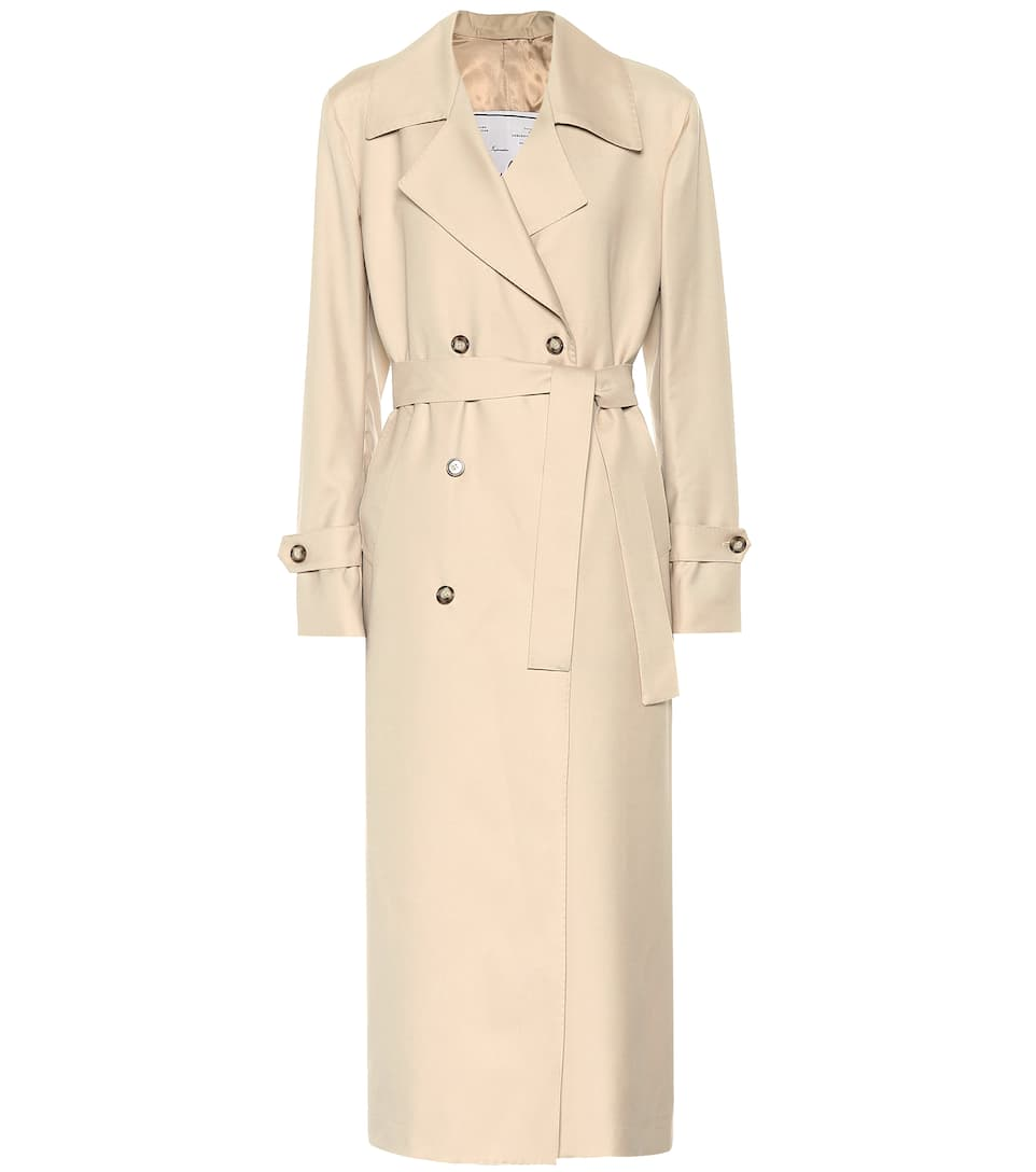 best cheap 4b24c 4b16f Trenchcoat The Christie aus Wolle