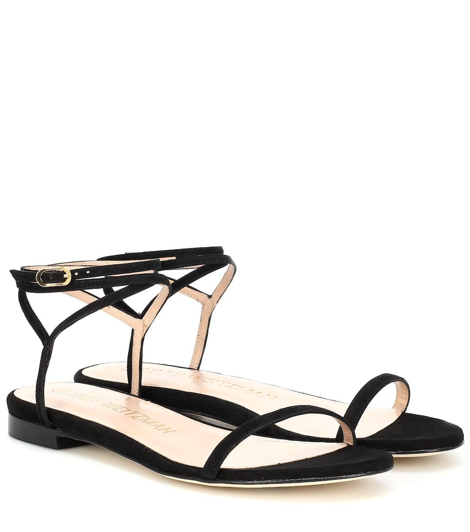 Merinda Suede Sandals by Stuart Weitzman