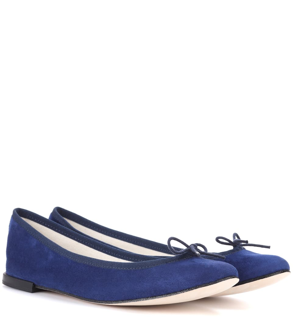 Repetto Ballerinas Cendrillon aus Veloursleder