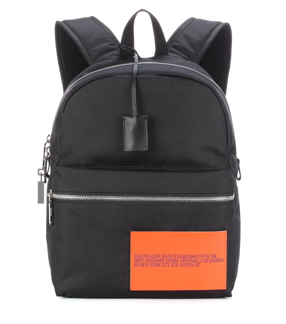 embellished backpack calvin klein 205w39nyc. Black Bedroom Furniture Sets. Home Design Ideas