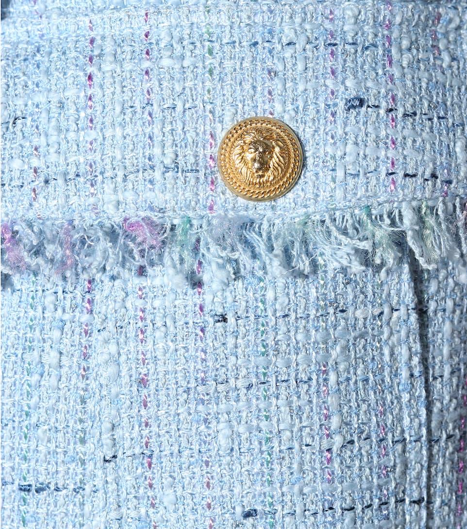 Balmain Tweed-Shorts Die Besten Preise Günstiger Preis Auslass 100% Authentisch aBoeKulN
