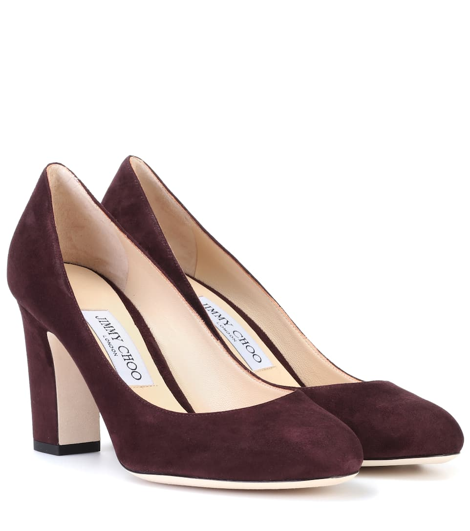 fa095c00a3e2 ... release date billie 85 suede pumps jimmy choo mytheresa 5eded 8801d