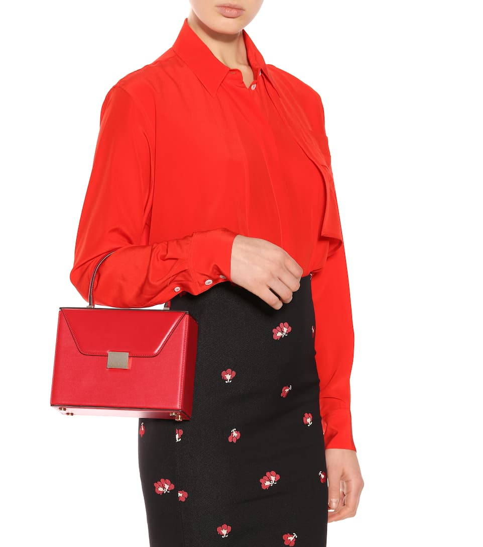 Victoria Beckham Crossbody-Tasche Vanity aus Leder