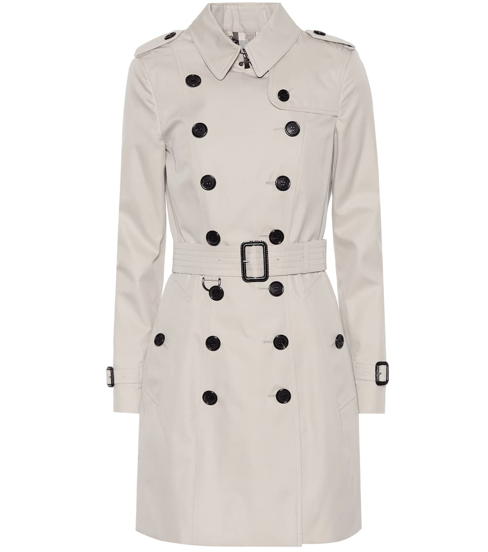Cotton Trench Coat by Burberry