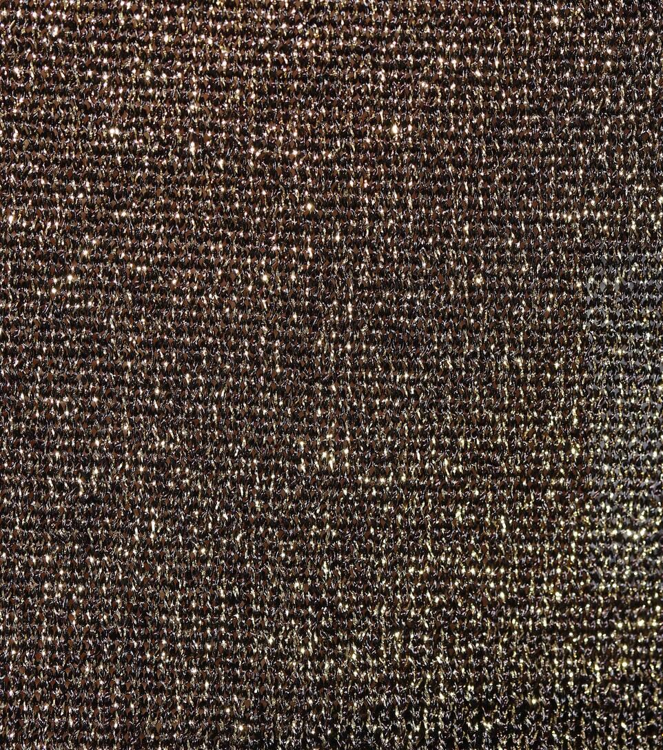 punto metálico Missoni de dorado punto de camiseta ZZ7qEz