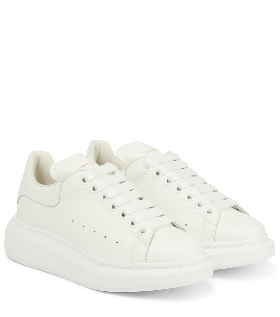 Leather Sneakers - Alexander McQueen