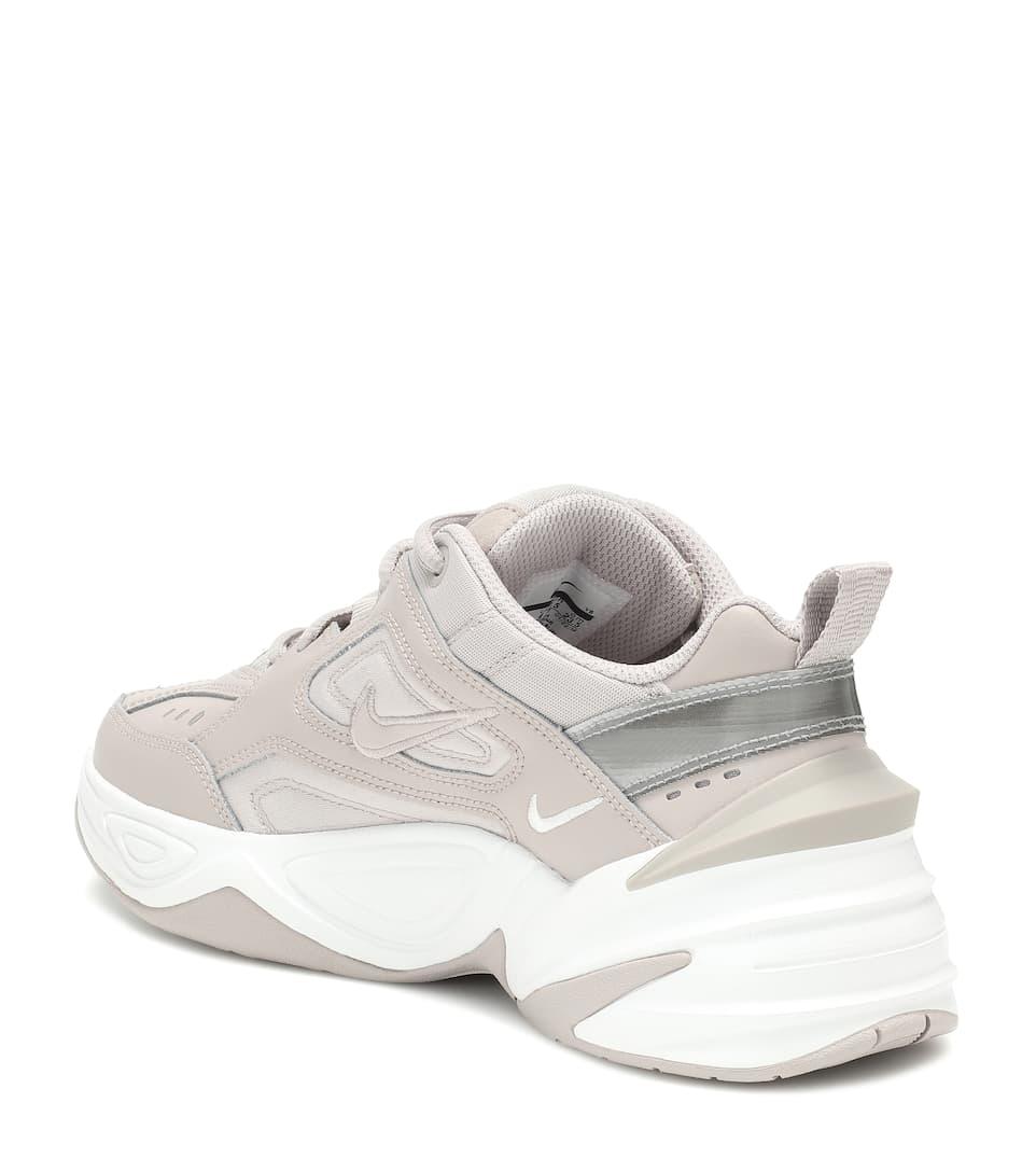En Cuir Et Résille M2k Nike Tekno Baskets trshdQ