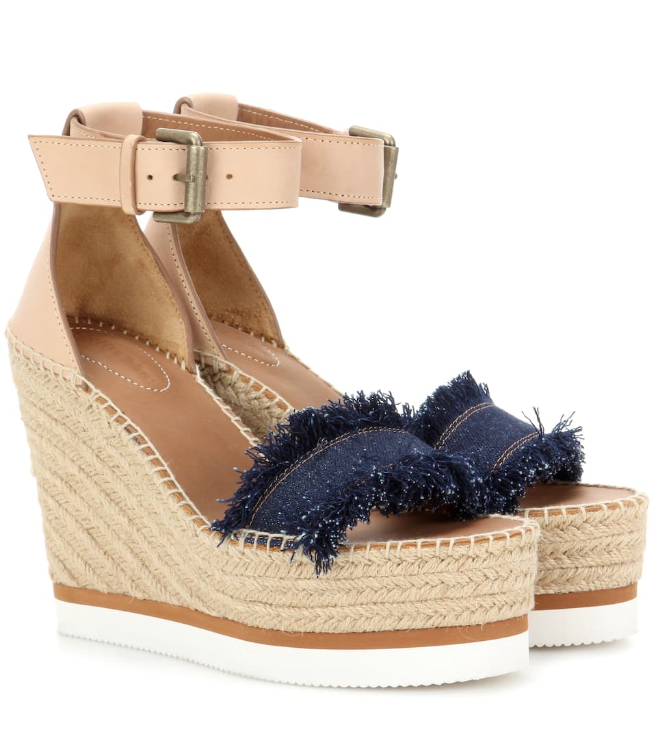 See By Chloé Wedges mit Espadrilles-Sohle
