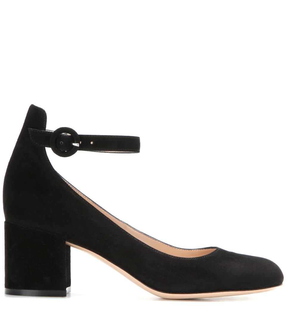 Gianvito Rossi Pumps aus Veloursleder