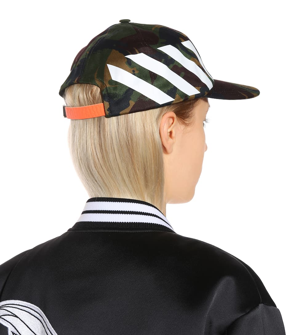 Casquette En Coton - Off-White Réduction Aaa 0ZiKWMTug