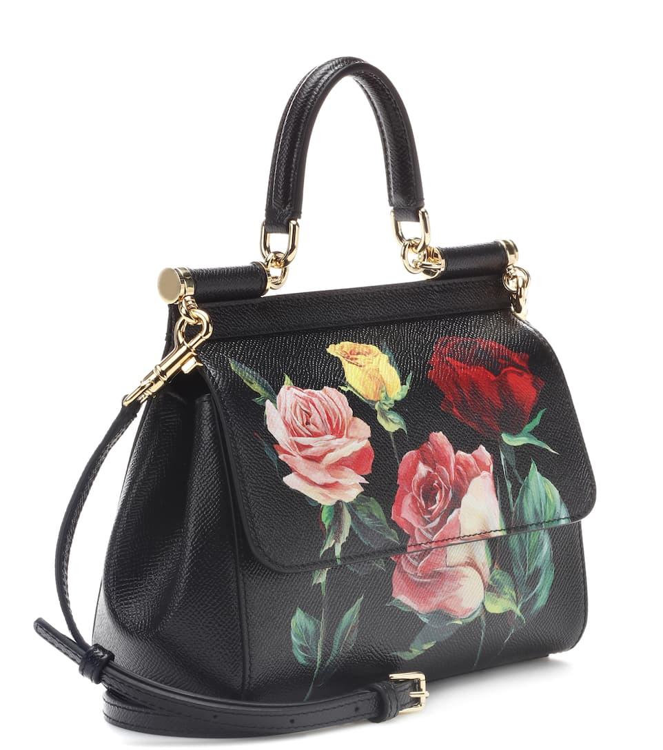 Dolce & Gabbana Tasche Sicily Small aus Leder
