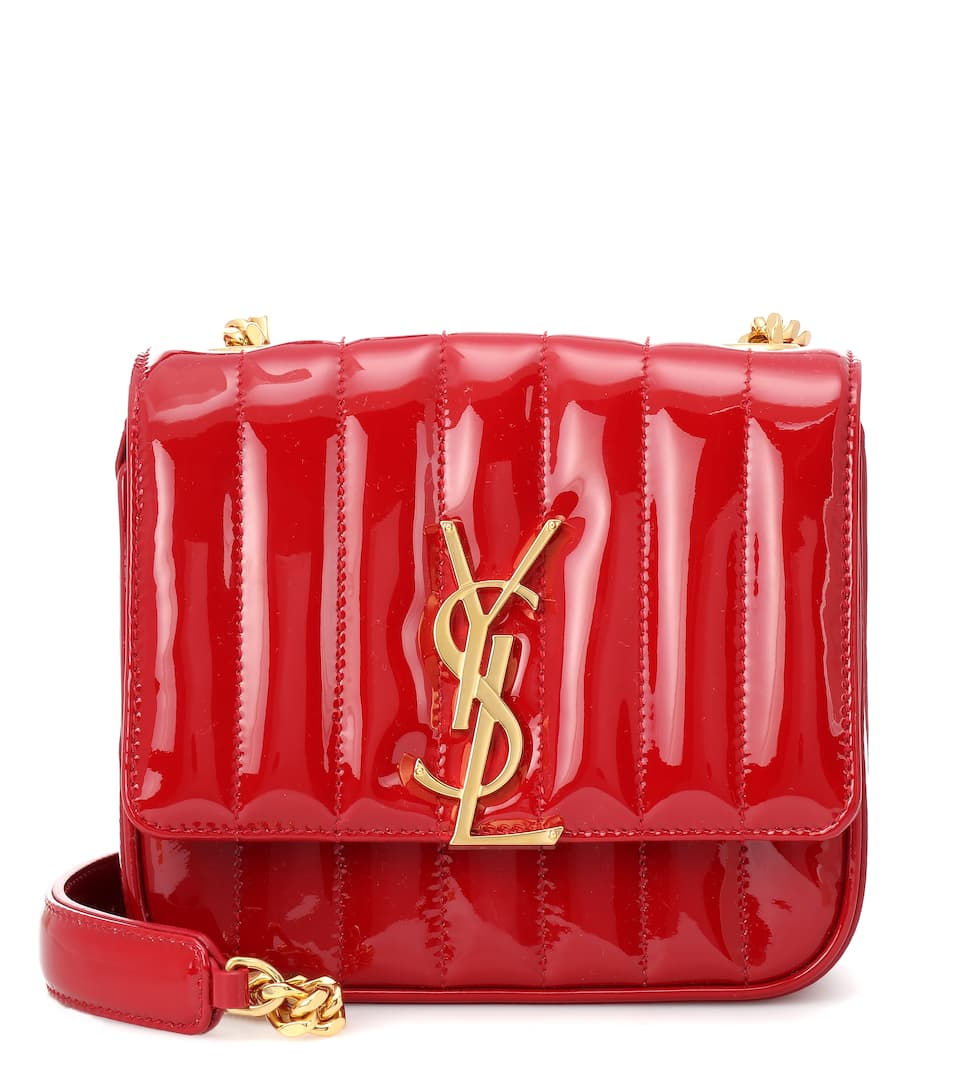 d1544c55d Small Vicky Leather Crossbody Bag - Saint Laurent | mytheresa.com