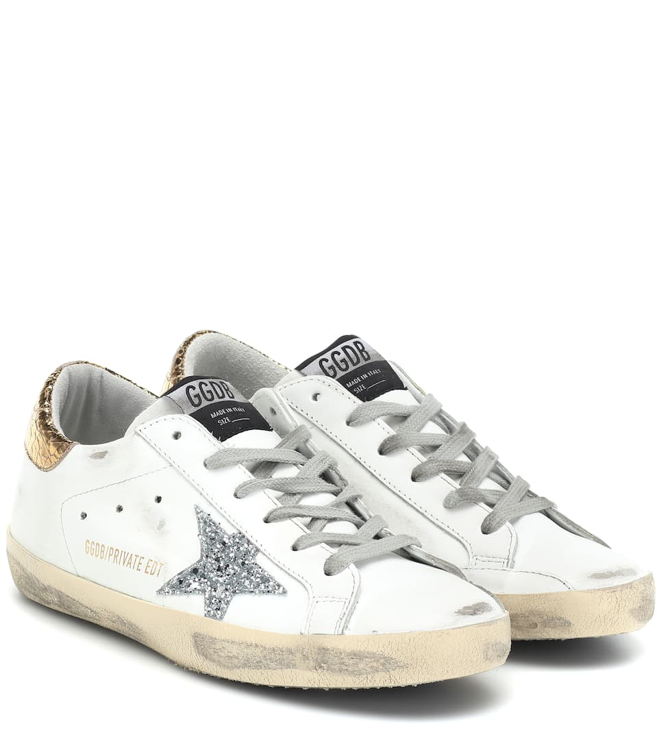 7d1ef268afc7 Superstar Leather Sneakers - Golden Goose Deluxe Brand