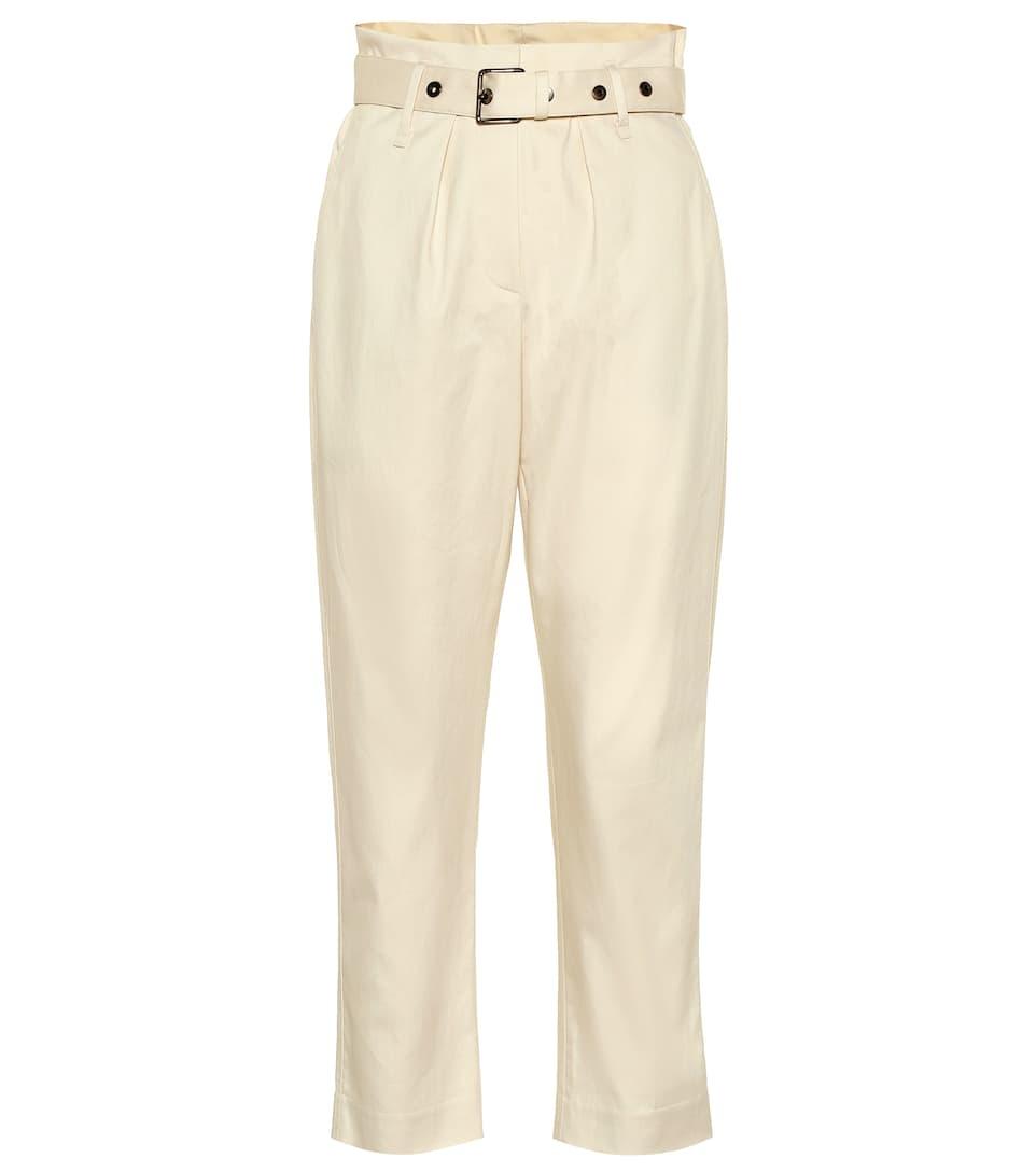 CucinelliN° Artnbsp;p00404301 De Haute En Sergé À Taille Brunello Pantalon Coton UzVpGqSM