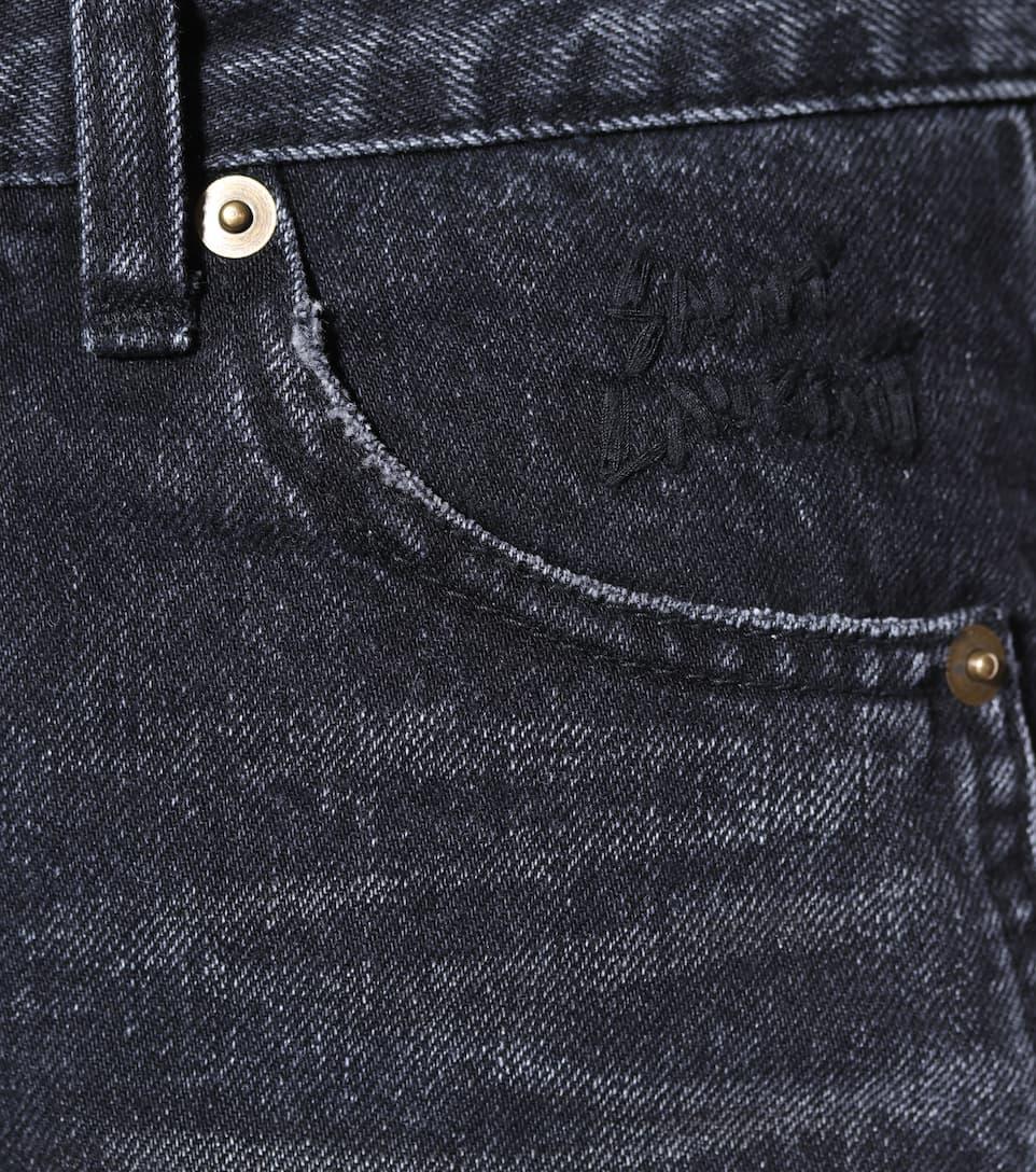 Saint Laurent Mid-Rise Skinny Jeans aus Baumwolle Rabatt Großer Verkauf Freies Verschiffen Ebay ckipccE