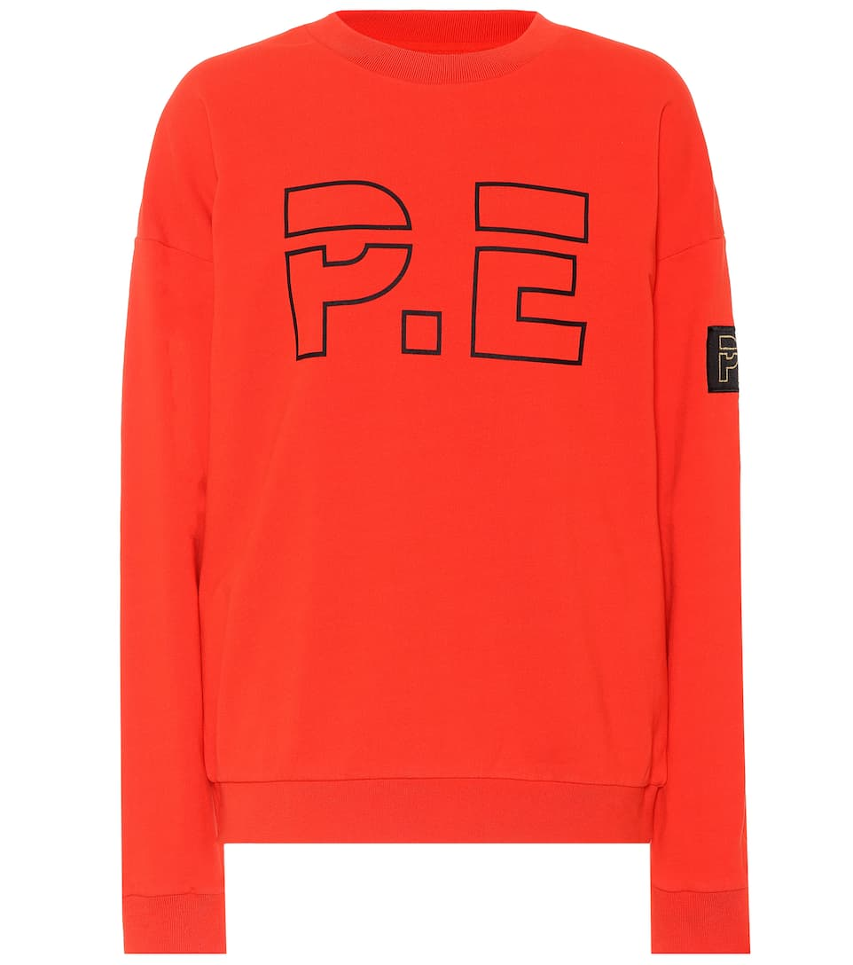 P.E Nation Sweatshirt Ringside aus Baumwolle