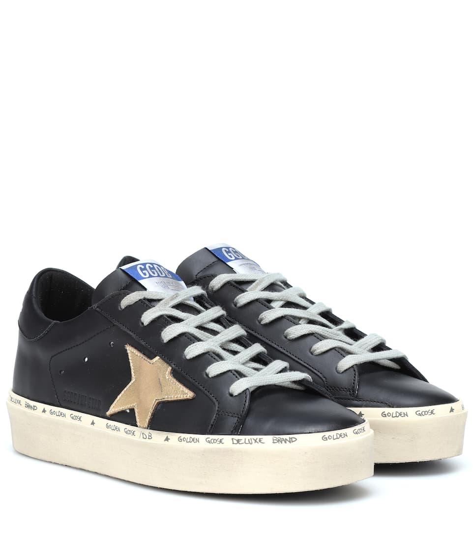 Hi Sneakers Golden In Star Brand Deluxe Pelle Goose awZ7qwC