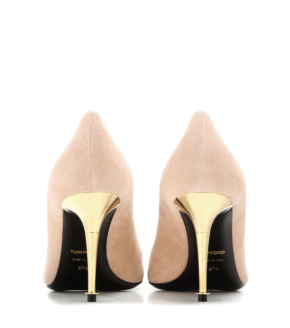 Tom Ford Pumps Sue aus Veloursleder